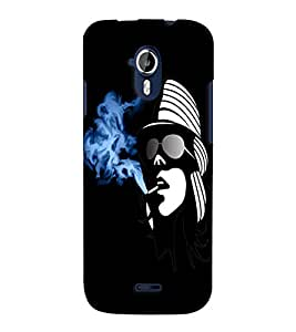 Fuson Smoking Girl Back Case Cover for MICROMAX A117 CANVAS MAGNUS - D4017