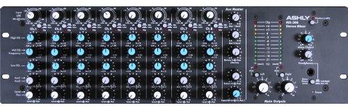 Ashly Mx-508 Micline Mixer Eight Channel 40 Db Attenuation 48Vdc Phantom Power