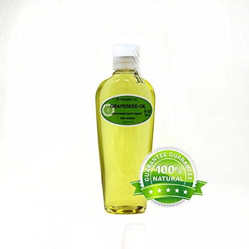 Grapeseed Oil Organic Pure by Dr.Adorable 8 oz