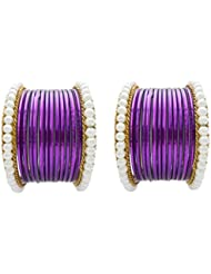 Designer Jamuni Pearl Bridal Bangles Set By My Design(size-2.8)