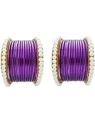 Designer Jamuni Pearl Bridal Bangles Set By My Design(size-2.8)