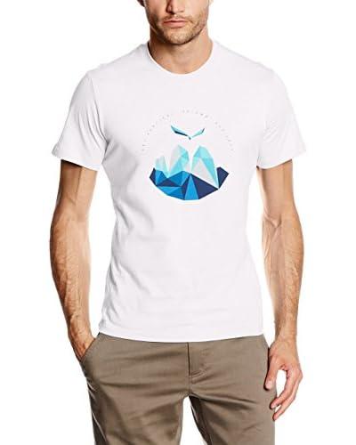 Salewa Camiseta Manga Corta Get Vertical Co M S/S Blanco