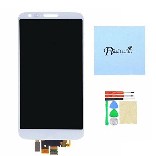 Lcd Display+Touch Digitizer Assembly For Lg Optimus G2 D800 D801 Ls980 (White)
