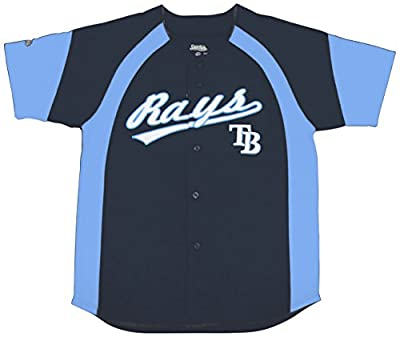MLB Tampa Bay Rays Youth Fashion Script Jersey