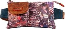 Nicole Lee Muneca Print Belt Waist Pack, Gina, One Size