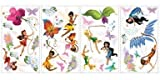 Roommates Wall Decals Disney Fairies 10  X 18