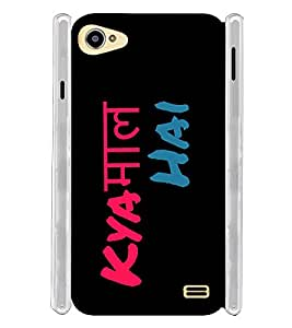 Kya Maal Hai Manly Soft Silicon Rubberized Back Case Cover for Intex Aqua Star 2 :: Intex Aqua Star II 16GB