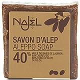 Najel Savon d'Alep 40% d'huile de baies de laurier 200 g