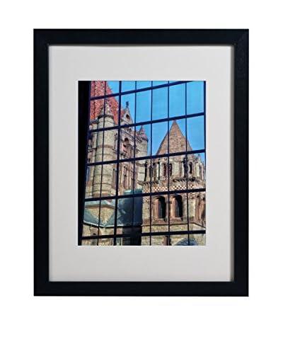 Cateyes Trinity Church Reflection Framed Photography Print