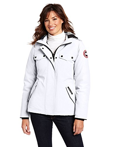 Canada gooses Women's Burnett Parka Coat Size L (Burnett Canada Goose compare prices)