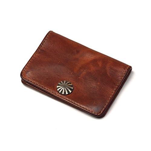(ダブルアールエル) RRL CONCHA COIN WALLET コインケース 財布 Dk.BROWN/INDIGO [並行輸入品]