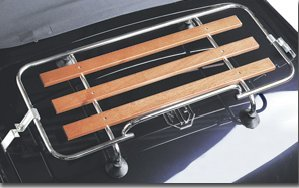 Mgb Luggage Rack Classic Boot Rack Wooden Amazon Co Uk