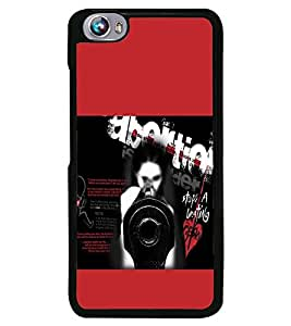 Fuson Premium Don`T Abort Metal Printed with Hard Plastic Back Case Cover for Micromax Canvas Fire 4 A107