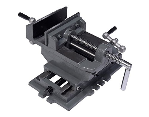 """New 5"""" Cross Drill Press Vise X-Y Clamp Machine Slide Metal Milling 2 Way HD Ship from USA"""