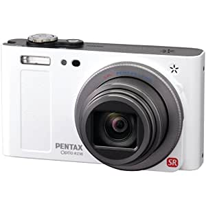 Pentax Optio RZ18 16 MP Digital Camera with 18X Extra Wide Optical Zoom and 3.0-Inch LCD Screen (White)