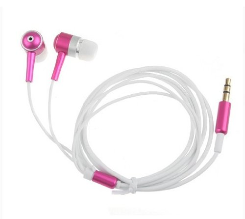 Durable Metal Headphones Soft/Comfortable Earbuds 3.5 Mm Aluminum Joints