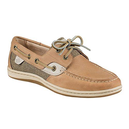 Women's Sperry, Koifish Boat Shoe LINEN OAT 7 S