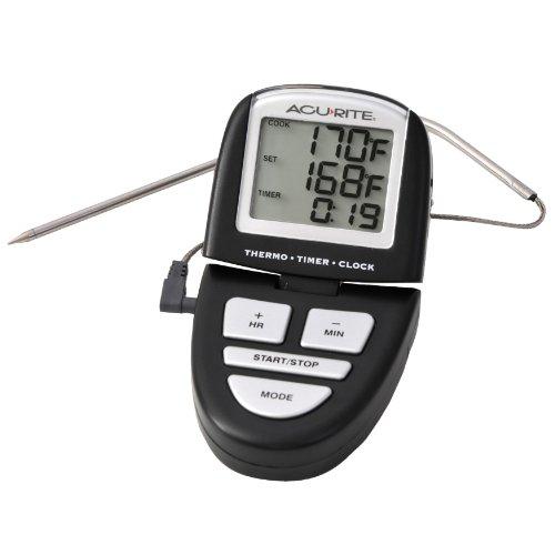 Acurite 0648Sb Digital Grill Probe Thermometer