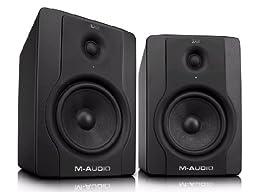 M-Audio BX8 D2 8-Inch Active 2-Way Studio Monitor Speakers
