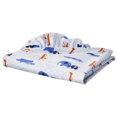 Soho Jungle Fitted Crib Sheet - 1