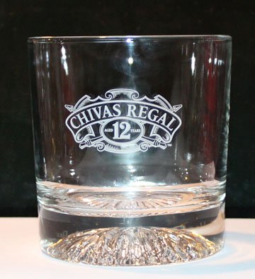 Chivas Regal 12yr old Blended Scotch Whiskey Promotional Tumbler (Glass)