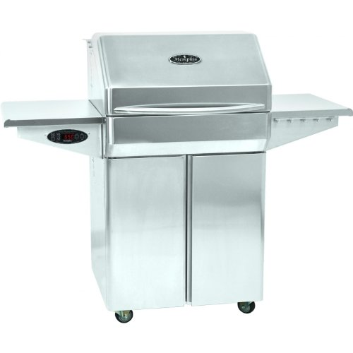 Find Bargain Memphis Grills Pro 28-inch Pellet Grill On Cart - Vg0001s