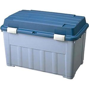 TENMA べランダボックス120 ブルー ベランダ収納