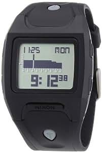 Nixon Herren-Armbanduhr The Lodown Black / Positive Digital Quarz Plastik A530867-00