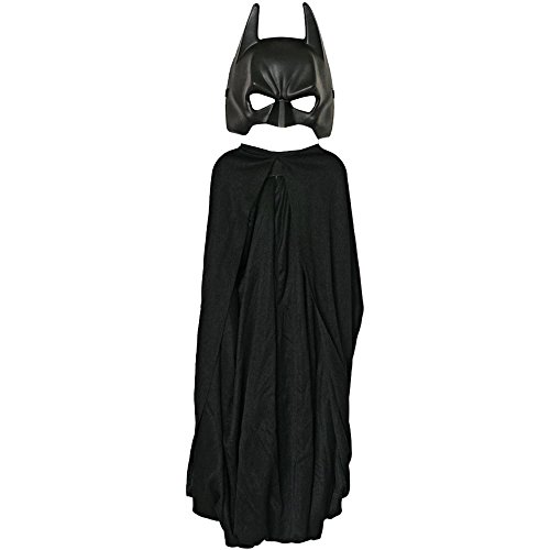 Dark Knight Rises: Batman Cape and Mask Kids Set - One Size