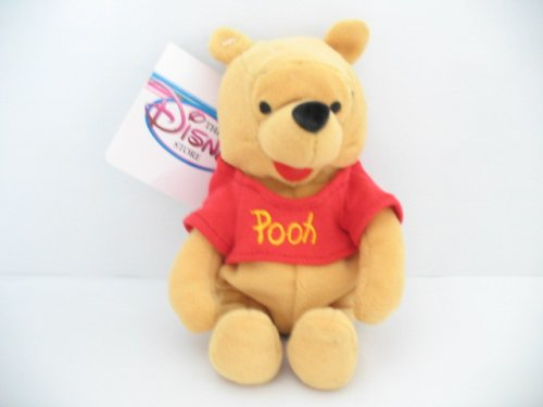 "Everyday Winnie the Pooh Mini Bean Bag Plush 8"" - 1"