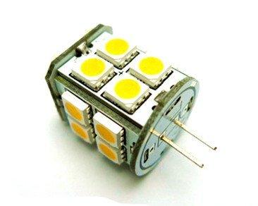 12Vmonster ® - Warm White G4 Halogen Lamp Replacement: Led Light Jc Bulb Dc12V Chandelier Solar Marine Interior