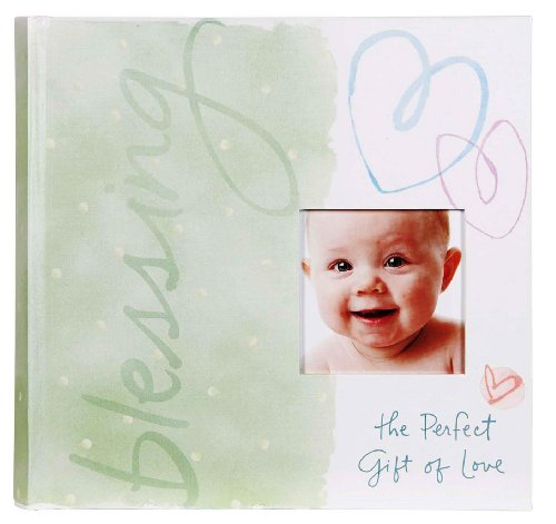 C.R. Gibson Precious Miracle Slim Bound Photo Journal Album