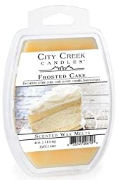 1 X FROSTED CAKE City Creek 4 oz Scented Wax Melts by Candle Warmers by CANDLE WARMERS