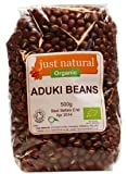 Just Natural Org Aduki Beans 500g x 1