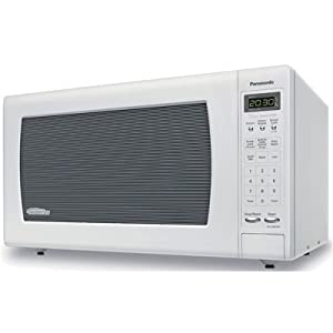 Panasonic NN-SN933W Sensor Microwave Oven with Inverter Technology, 2.2 Cubic Feet, White