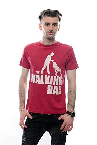 S-Ponder -  T-shirt - Maniche corte  - Uomo Borgogna X-Large