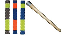SB Cricket Grip Cone (Made in India) With 3 Bat Grip (Fine Quality)