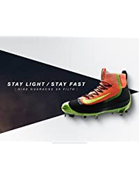 Nike Air HUARACHE 2KFILTH ELITE Mid Baseball Cleats