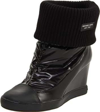 Michael Michael Kors Women's Winter Bootie,Black,11 M US