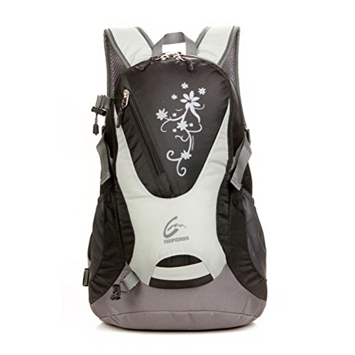 SNOWHALE Cycling hiking Backpack Water-resistant Daypack (Black)