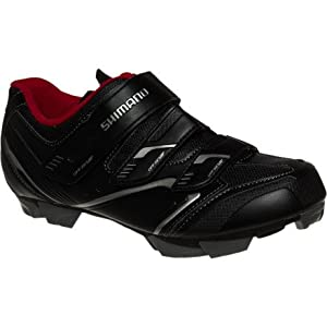 Shimano 2014 Men's Off-Road Sport Cycling Shoes - SH-XC30 (Black - 47)
