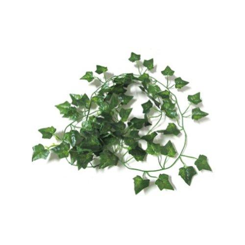 SODIAL(R)新ガーデンホームインテリアフェイク植物グリーンアイビーバイン葉造花、サツマイモの葉葉