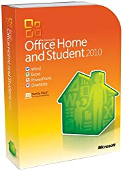 Microsoft Office Home &amp; Student 2010 - 3PC/1User (Disc Version)