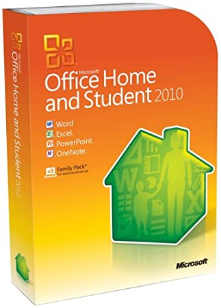 Microsoft Office Home & Student 2010 Family Pack, 3PC (Disc Version)