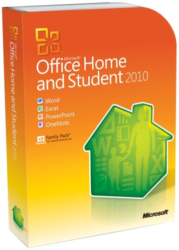Microsoft Office Home and Student 2010 Family Pack, 3PC (Disc Version) (Dvd Authoring Software compare prices)
