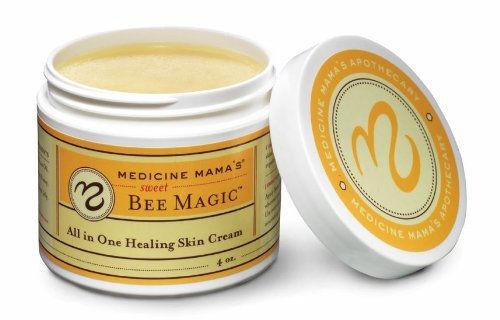 Medicine Mama'S Apothecary Sweet Bee Magic All In One Healing Skin Cream, 4 Ounce front-62388