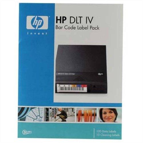 HP DLT IV Bar Code Label Pack - Étiquettes code à barres