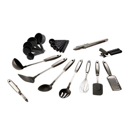 icikiwir shop kitchen artist men192 set de 21 ustensiles de cuisine. Black Bedroom Furniture Sets. Home Design Ideas