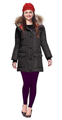 Lux Lyra Womens Purple Winter Leggings