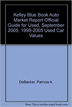 kelley blue book auto market report